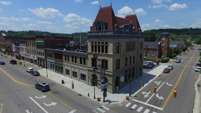 """Ohio Valley Bank's """"On The Square"""" location was officially dedicated Sunday."""