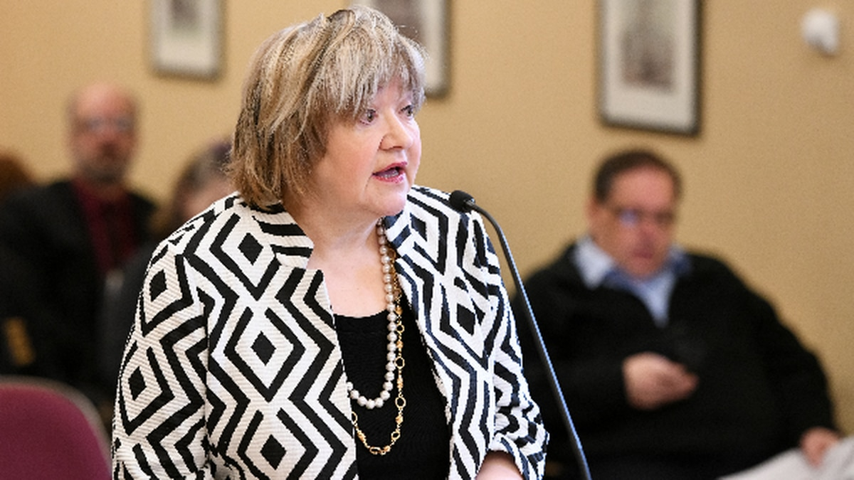 Chief Justice Margaret Workman addresses lawmakers over an audit of Supreme Court spending.