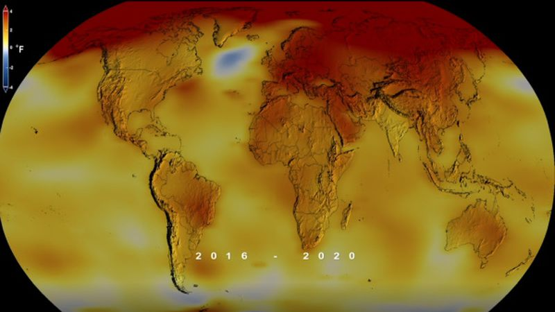 NASA and NOAA Scientists share latest global temperature update.