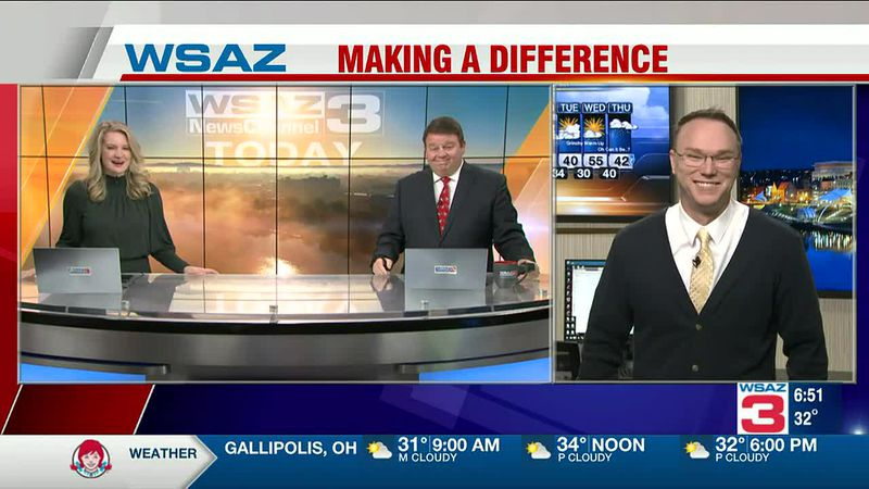 Brandon Butcher Delivers the First Warning Forecast for Friday, December 18th, 2020.