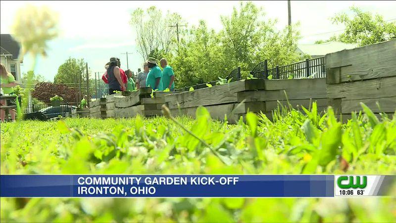 Community garden kicks off in Ironton