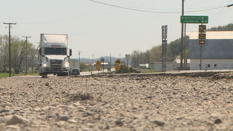 Deputies say finding truck driver that fled after hitting a man will be difficult.
