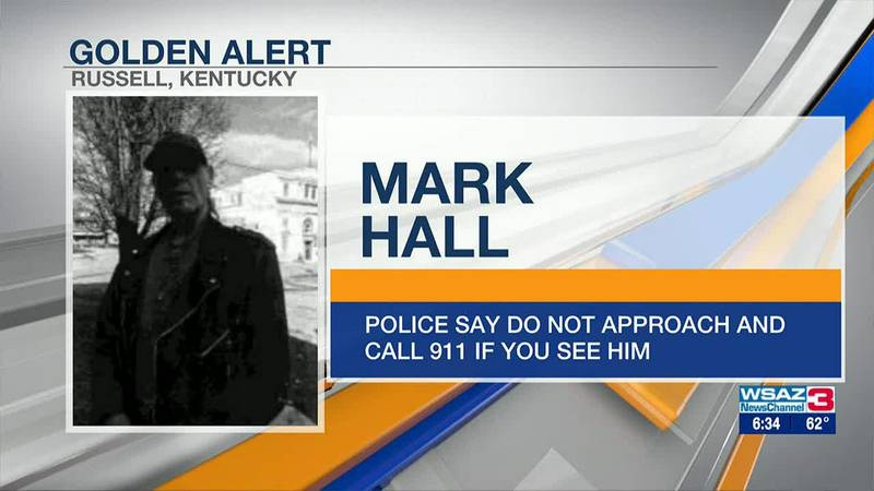 A Golden Alert has been issued for Mark Hall.