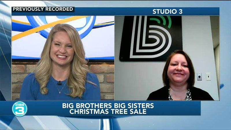 Big Brothers Big Sisters Christmas tree sale