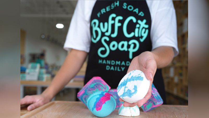 Buff City Soap opening in Ashland