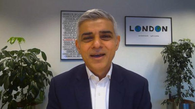"Sadiq Khan declared a ""major incident,″ as the rapid spread of the virus pushed hospitals to..."