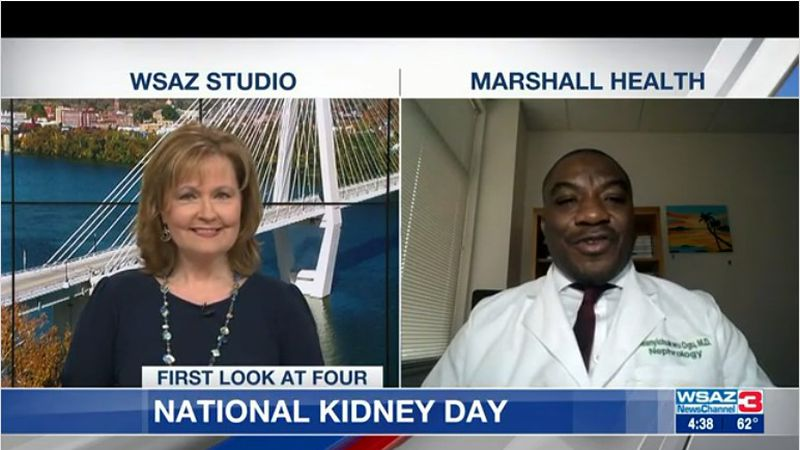Dr. Ogu from Marshall Health shares the risk factors for kidney disease, how you can prevent it...