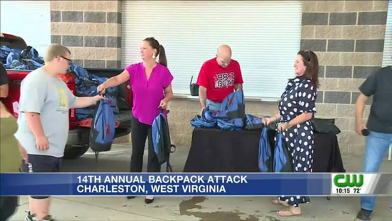 14th annual Backpack Attack sets students up for success