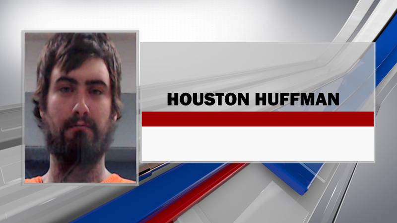 Houston Michael Huffman, 26, faces charges including two counts of malicious wounding, one...