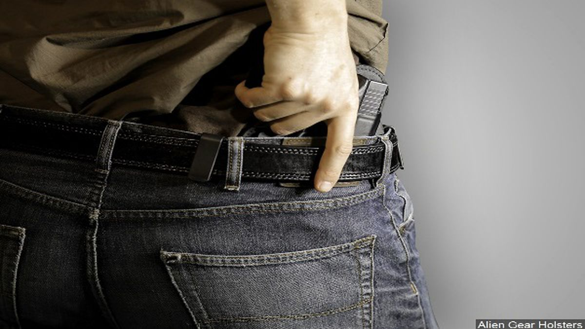 Currently, to be able to conceal carry in Ohio, you have to pass a background check, get eight...