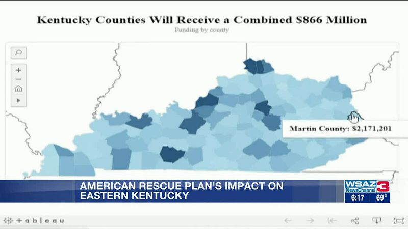 Lawmakers examine American Rescue Plan's impact on eastern Ky.