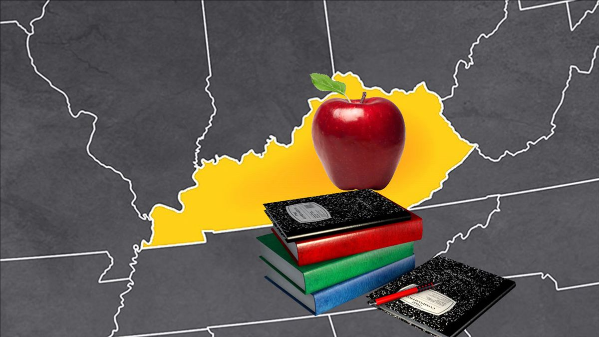 Many schools across Kentucky will resume in-person learning Monday, as long as their county is...