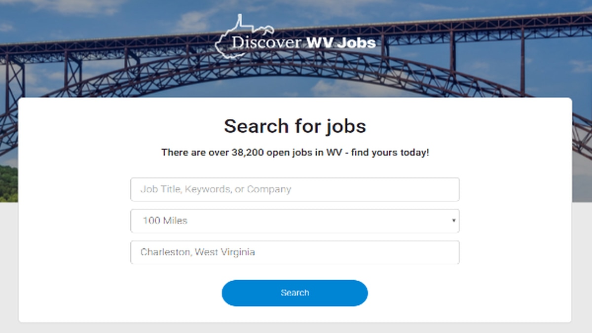 New website that will help people find more than 38,000 jobs across West Virginia.