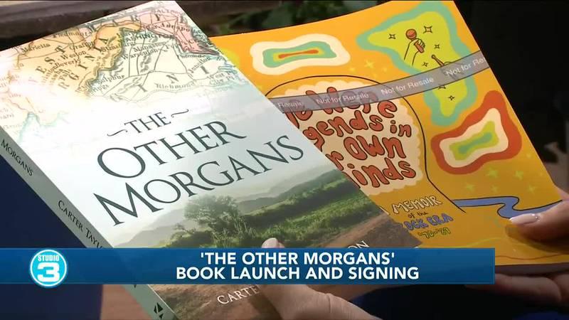 Local author shares new books