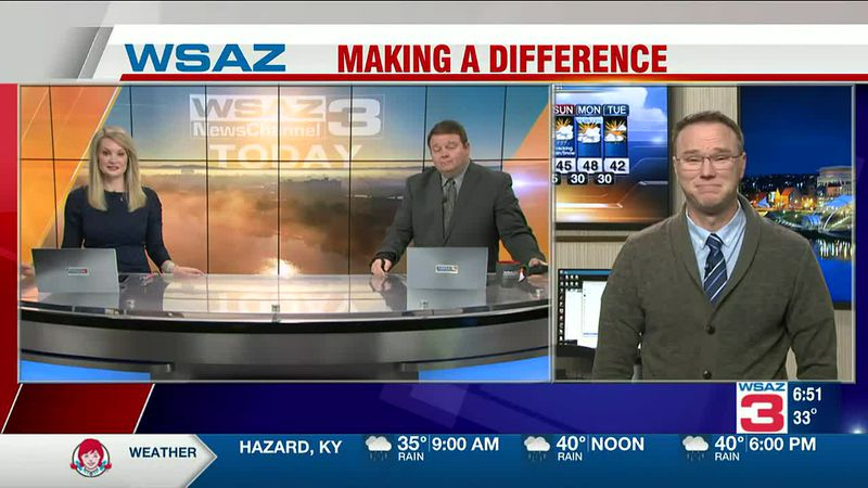 Brandon Butcher Delivers the First Warning Forecast for Wednesday, December 16th, 2020.