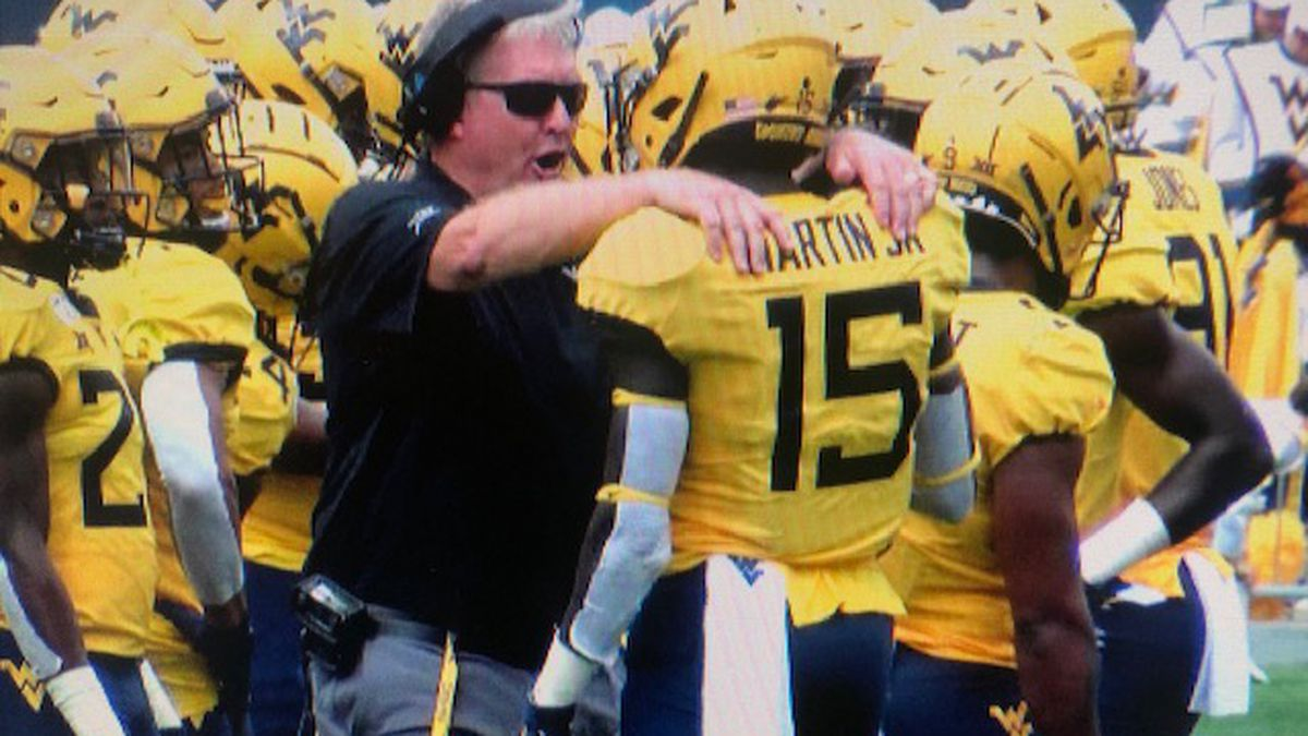 WVU Defensive Coordinator placed on administrative leave