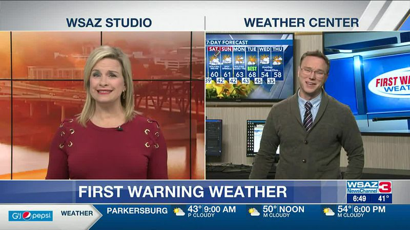 Brandon Butcher Delivers the First Warning Forecast for Friday, April 16th, 2021.