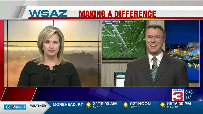 Brandon Butcher Delivers the First Warning Forecast for Monday, March 8th, 2021.