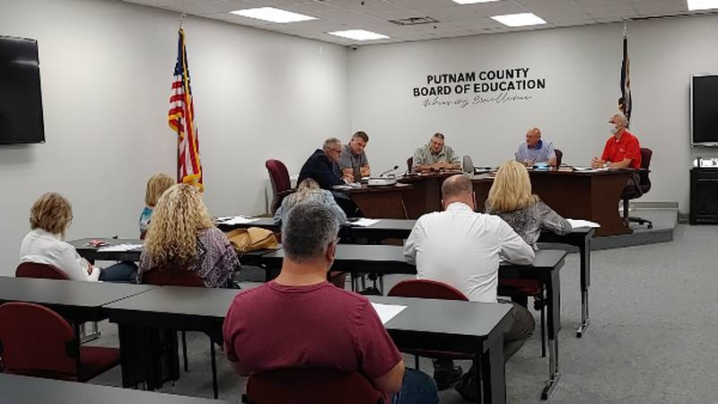 At Monday night's Putnam County Board of Education meeting, a vote to give every student an...
