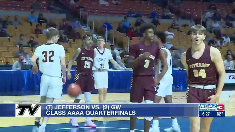 GW tops Jefferson in hoops tournament quarterfinals