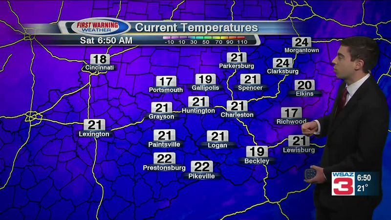 WSAZ Saturday Morning Forecast - Jan 23