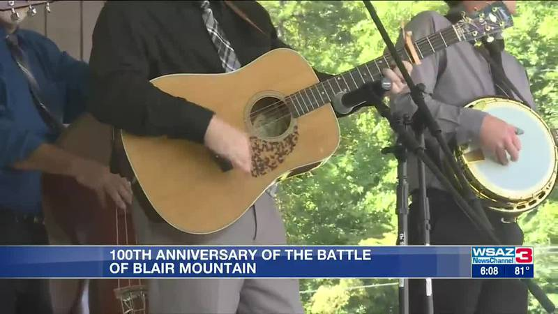 100th anniversary of the Battle of Blair Mountain celebrated on Labor Day