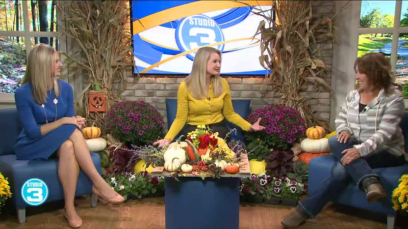 Fall decorating tips with Hatcher's Greenhouse