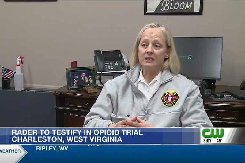 Huntington Fire Chief Jan Rader testified Friday to the huge number of overdoses first...