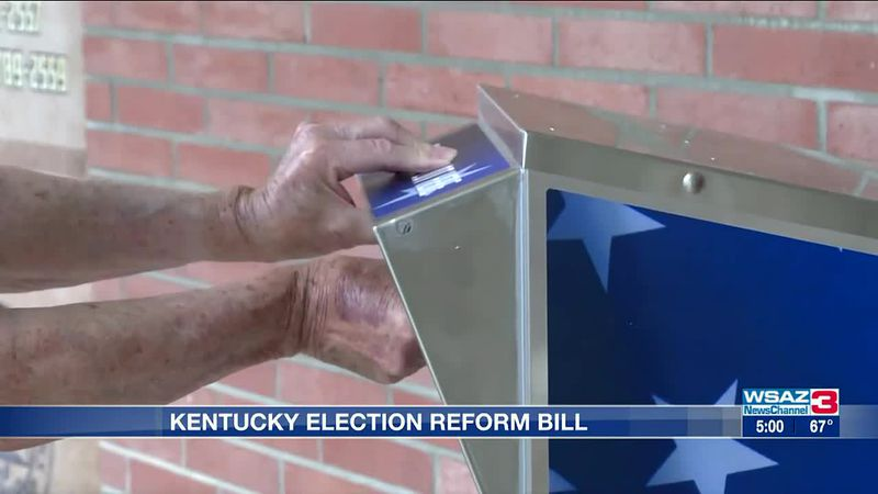 Ky Election  Reform