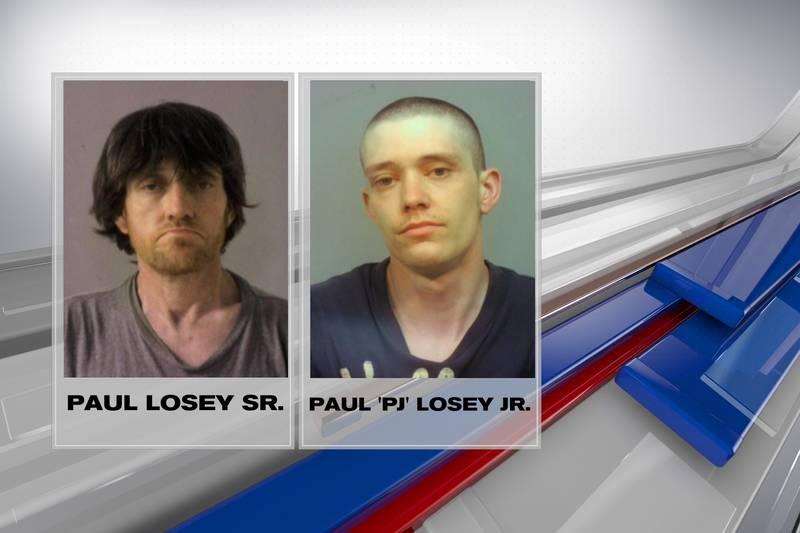 """Paul Losey Sr. & Paul """"PJ"""" Losey Jr."""