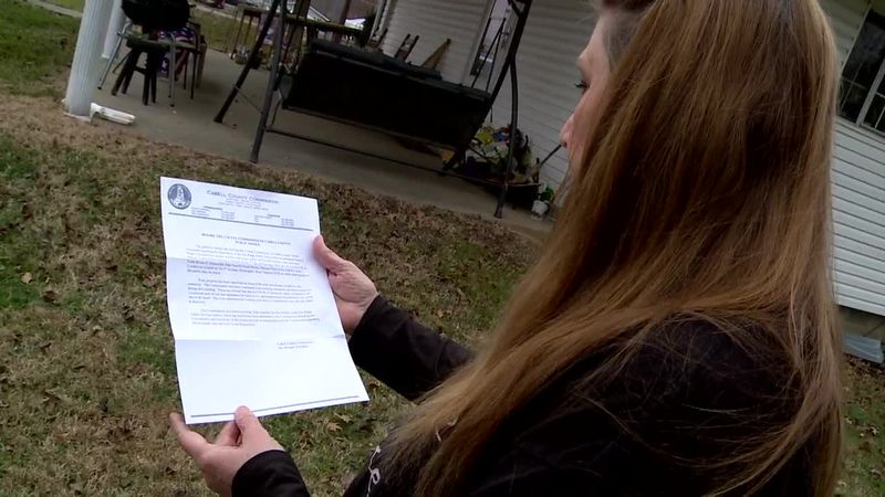 Hundreds of people along Route 2 in Cabell County may be required to sign up for a new sewer...