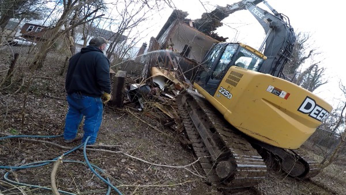 In 2019, the City of Huntington tore down more than 100 vacant homes or buildings, the most ever in that time frame.