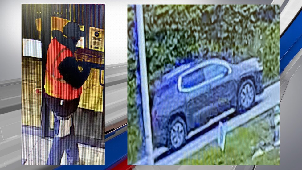 Louisa Police released these surveillance photos from a robbery at the Citizens Bank of...