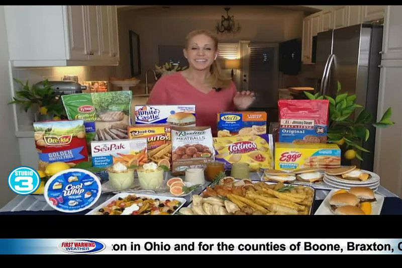 National Frozen Food Month on Studio 3
