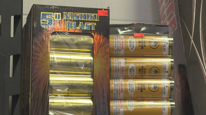 With Independence Day quickly approaching, employees at Nitro Fireworks showed WSAZ's Chaelesse...