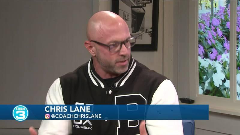 Coach Chris Lane on Studio 3