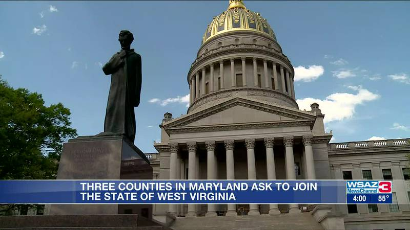 Three Maryland counties request to join West Virginia