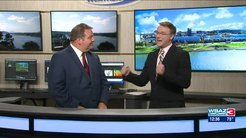 Brandon Butcher Delivers the First Warning Forecast for Tuesday, September 28th, 2021.