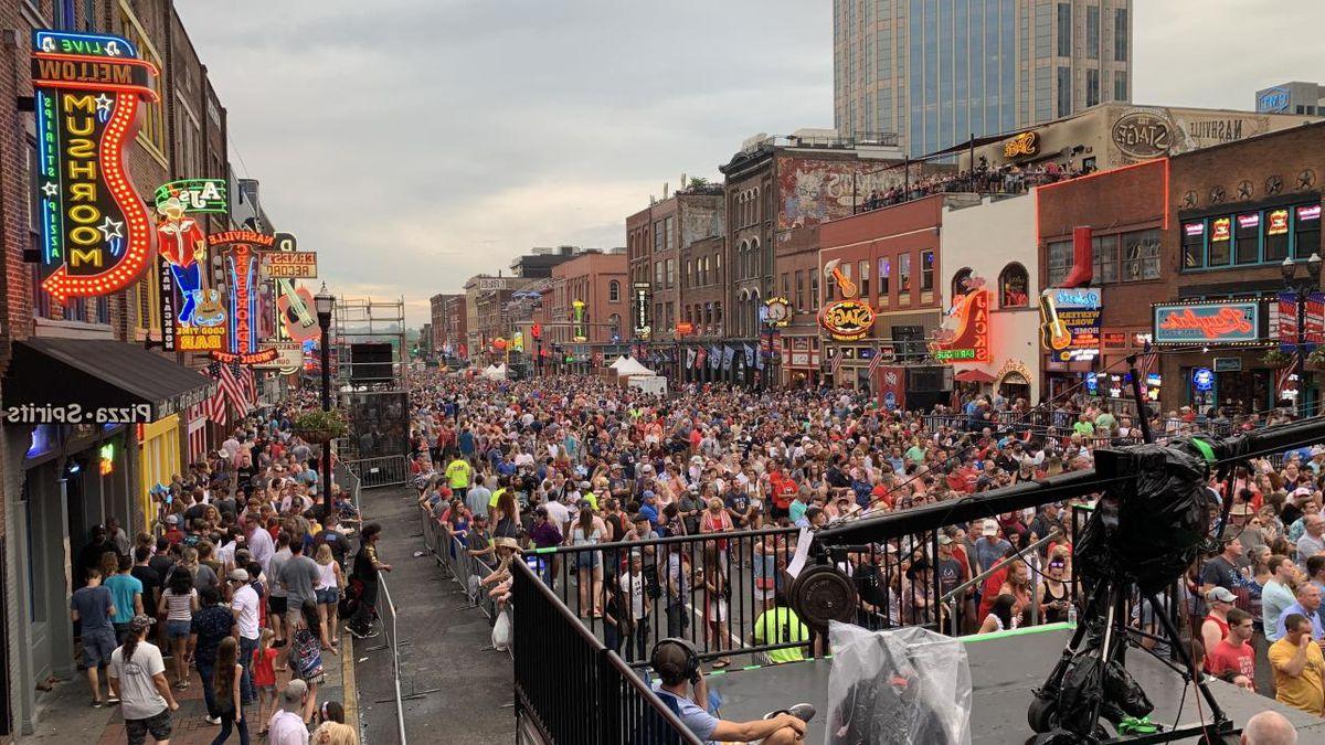 Broadway in Nashville / Source: WTVF