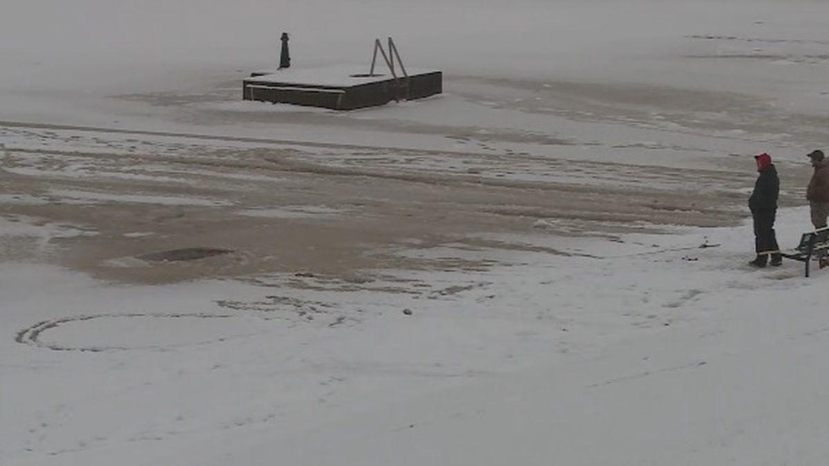 Man dies after ATV falls through ice on Lake Winnebago
