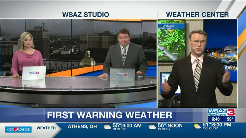 Brandon Butcher Delivers the First Warning Forecast for Wednesday, May 5th, 2021.