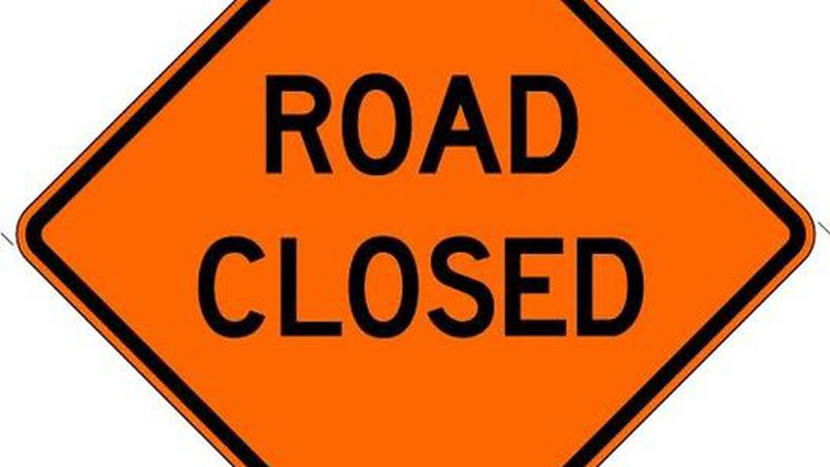 Dozens of West Virginia roads closed by high water.