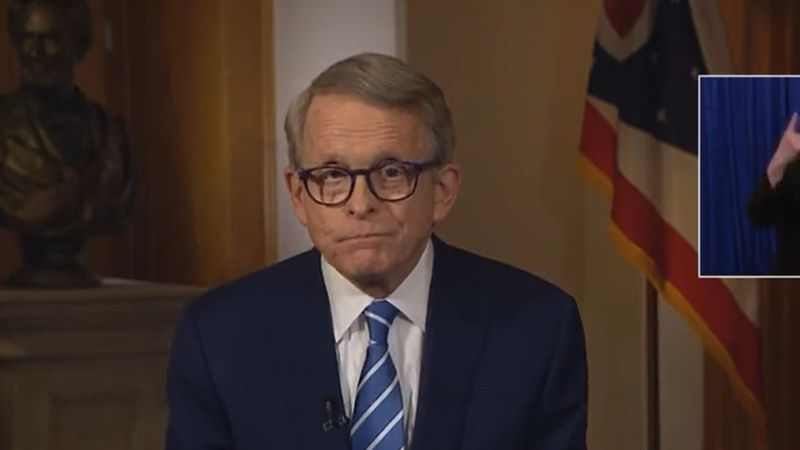 Ohio Gov. Mike DeWine delivers statewide address