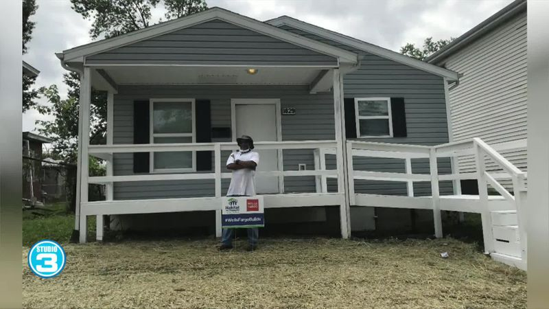 Virtual house dedication with Habitat for Humanity