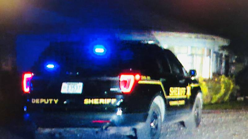 Deputies say a man who broke into an apartment was shot by the man living there early Tuesday...