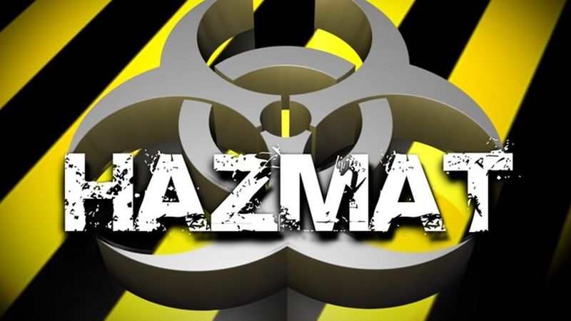 A hazmat situation reported Saturday at the South Point Water Plant has been contained.