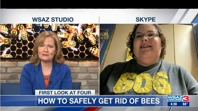 Rachel Jobe, a bee keeper, tells us how we can safely get rid of bees while keeping everyone...