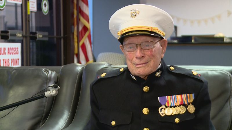 """Hershel """"Woody"""" Williams is participating in ceremonies with the President that are..."""