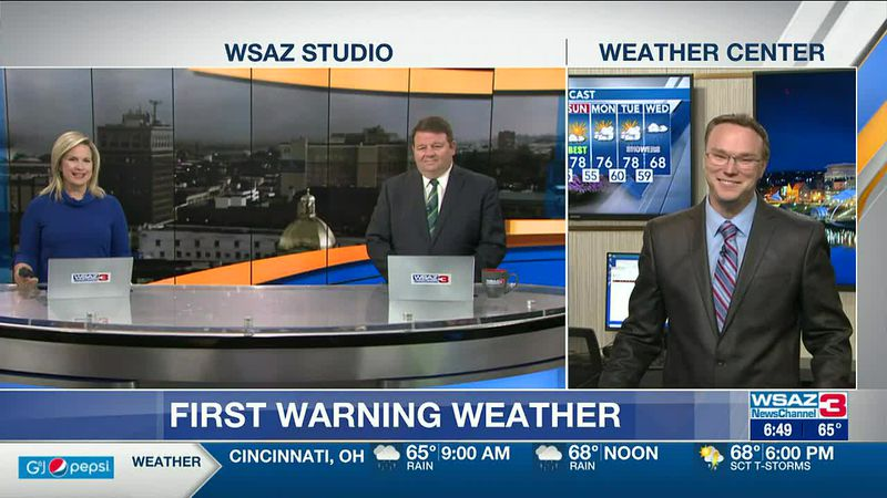 Brandon Butcher Delivers the First Warning Forecast for Thursday, April 29th, 2021.