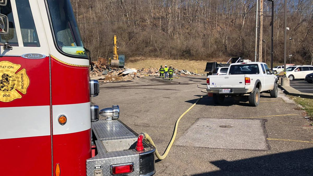 Gas leak reported, according to the Fayette Township Fire District